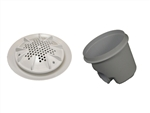 "A&A Manufacturing PDR2 10"" Main Drain Complete (Set of 2)"