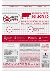 Beef Pet Food 1# Blend [40# Case]