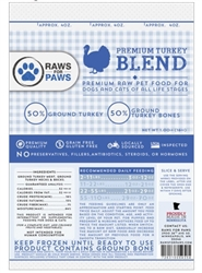 Turkey Pet Food 1# Blend [40# Case]