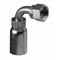 FFX90L-W - O-Ring Face Seal ORFS W Series - crimp hose fittings
