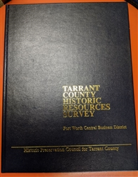 Tarrant County Historic Resources Survey: Central Business District - Leatherbound (C. Roark)