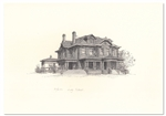 Reeves-Walker House by Judy Talbot - Numbered Print