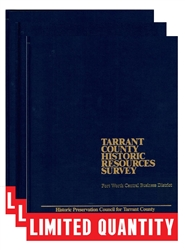 Tarrant County Historic Resources Survey: Leather-bound Collection (C. Roark)