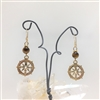 Compass Earrings, Small