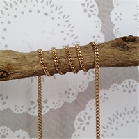 Stainless Steel Gold Colored Link Chain