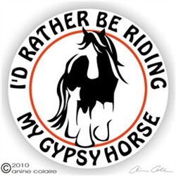 Gypsy Horse Trailer Decal