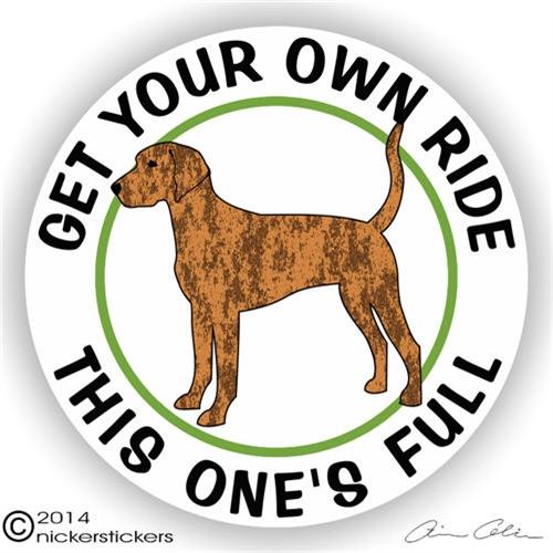 Plott Hound Full Ride Dog Decals Amp Stickers Nickerstickers