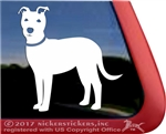 Custom Lab Mix Dog Window Decal
