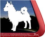 Custom Fuzzy Mixed Breed Dog Window Decal