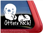Sea Otter Window Decal