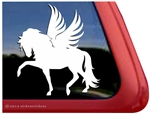 Pegasus Winged Horse Equine Car Truck RV Window Decal Sticker