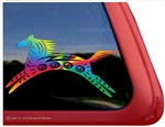 NickerStickers Spirit Horse Trailer Window Decal