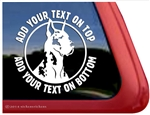 Custom Great Dane Dog Car Truck RV Window Decal Sticker