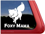 Fox Window Decal