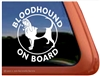 Bloodhound Window Decal