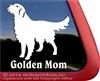 Golden Retriever Window Decal