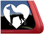 Great Dane Window Decal