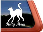 Kitty Mom Window Decal