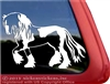 Custom Gypsy Stallion Horse Trailer Truck RV Window Decal Sticker