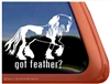 Gypsy Stud Horse Trailer  Window Decal