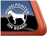 Pudelpointer Window Decal