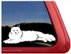 Custom Ragdoll Cat Vinyl Car Truck RV Window Decal Sticker
