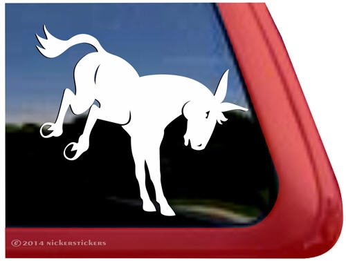 Car stickers for walls - Custom Kicking Mule Decals Amp Stickers Nickerstickers