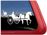 Wheelchair Hippotherapy Horse Trailer Car Truck RV Window Decal Sticker