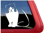 Tuxedo Cat Window Decal