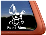 American Paint Stick Horse Window Decal