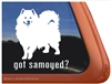 Samoyed Window Decal