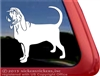 Custom Bloodhound Dog Car Truck RV Window Decal Sticker