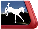 Custom Kickin Foal Pony Horse iPad Car Truck Trailer Window Decal Sticker