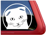 Custom Scottish Fold Window Decal