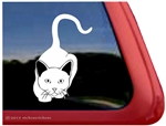 iPurr Kitty Window Decal