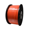 "3/16"" High Visibility Orange Grounding Cable"