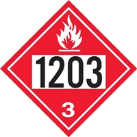 1203 Gasoline and Kerosene DOT Marker