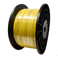 "1/8"" Vinyl Kink Resistant Bright Yellow Cable"