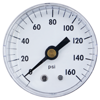 "2"" Center Back Mount Pressure Gauge"