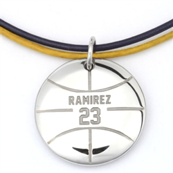MyMVP Basketball Necklace