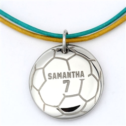 MyMVP Soccer Necklace