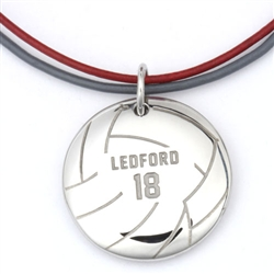 MyMVP Volleyball Necklace