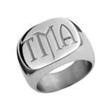 MyMonogram Twilight Signet Ring