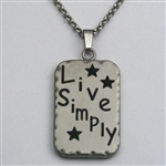 Naomi's Live Simply Necklace