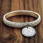 Vesta Olive Branch Bangle Bracelet