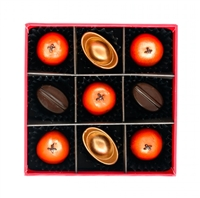 Box of 9 handmade bonbons and truffles - Chinese New Year Collection