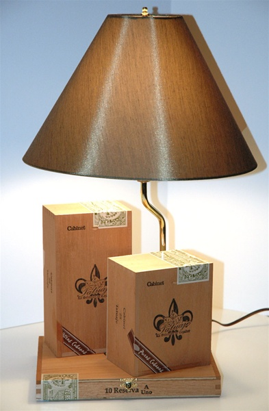 Tatuaje Cabinet Cigar Box Lamp