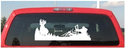 Whitetail Hunter Deer Decal