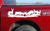 Winner Takes All Deer Decal