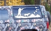 Quail Hunter Mural Decal